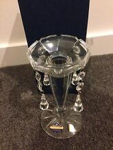 Beautiful Bohemia crystal lead candle holders West Footscray Maribyrnong Area Preview