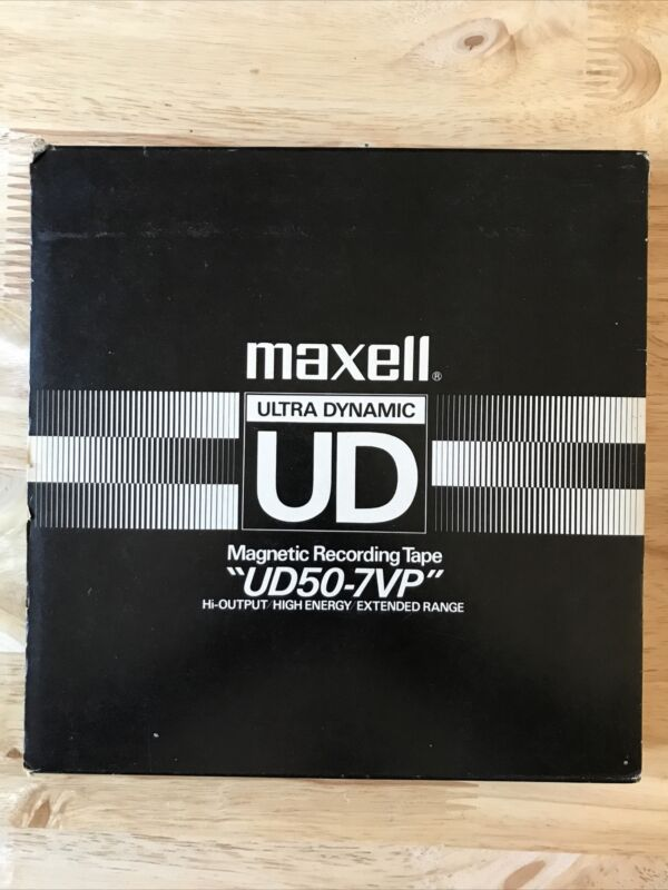Maxell Ultra Dynamic Magnetic Recording Tape UD50-7VP 1,200 Ft. Reel