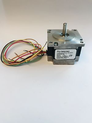 Nema 23 Stepper Motor 60 Oz-in 24vdc 1.0a Unipolar Portescap 23h018d10u