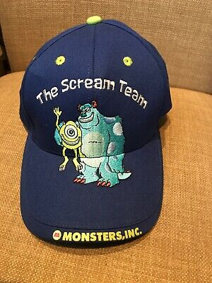 Disneyland Kids Youth Hat The Scream Team Monster - Monster Inc Kid