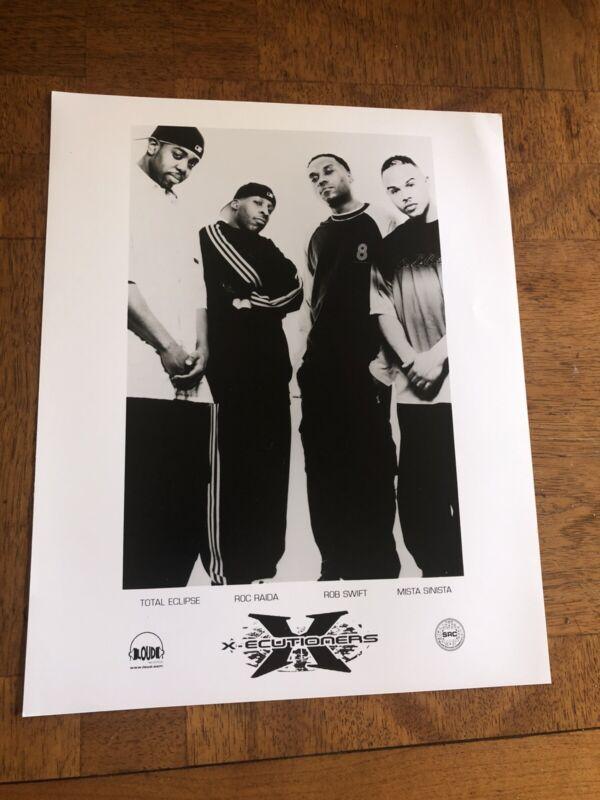 X-Ecutioners  Vintage  8x10 Press Photo Rap Hip Hop