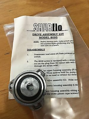 NEW SHURflo pump replacement part Drive Assembly Kit Model 8000 (Shurflo Replacement Parts)