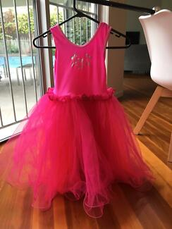 Gorgeous Pink Fairy Princess Dress (wings available too!) Size 5