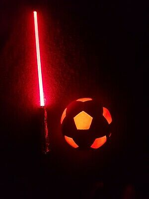 Led FX Lightsaber Light Saber Sword STAR WARS & LED Football