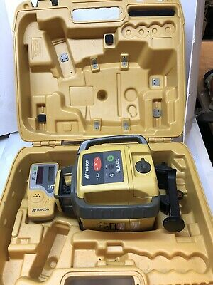 Topcon Rl-h4c Self-leveling Laser Rb Kit With Ls-80l Receiver