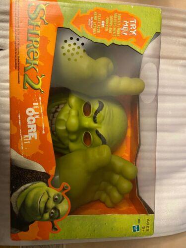 RARE Shrek2 Be An Ogre Kit Hasbro New Sealed Face & Hand Masks Electronic Sound
