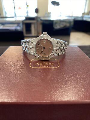 Patek Philippe Stainless Steel Neptune Ladies Watch 4880/1