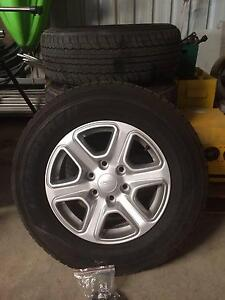 Ford Ranger XLT 2013 Alloy Wheels & Tyres Ipswich City Preview
