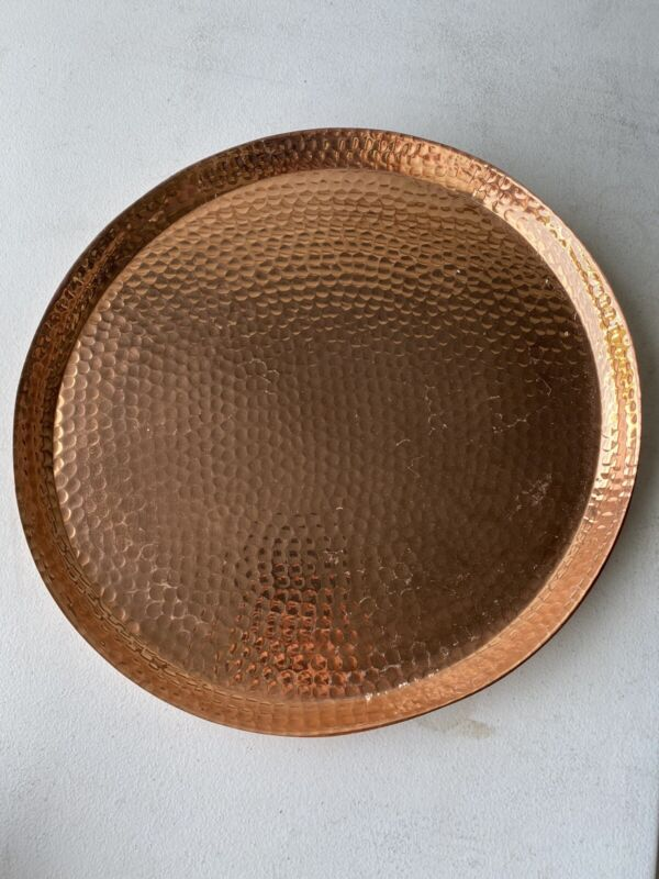 Hammered copper Absolut Elyx  tray