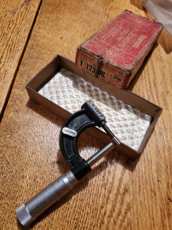 """Starrett No. 569 tube micrometer 0-1"""" .001"""""""