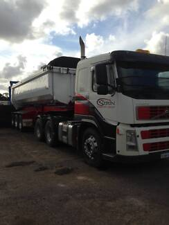 volvo combo with tiber  tralier Kenwick Gosnells Area Preview