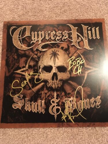 CYPRESS HILL SIGNED 12X12 PHOTO EXACT PROOF COA AUTOGRAPHED SKULL & BONES