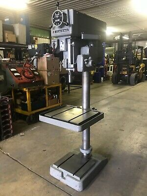 Clausing 20 Drill Press Model 2276 Variable Speed Power Feed- Will Ship