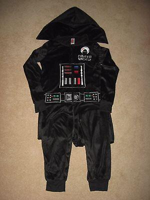 R Body Suit Last JEDI movie NEW Women's LADIES SLEEP Fleece (Darth Vader Body Suit)