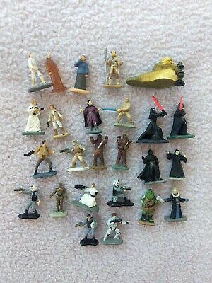 Hasbro Star Wars Micro Machines figure Lot, Kylo, Jabba, Vader, Cheque, Leia
