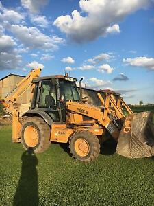 Backhoe loader case 580LE cab  4x4 4in 1 Yarramundi Hawkesbury Area Preview
