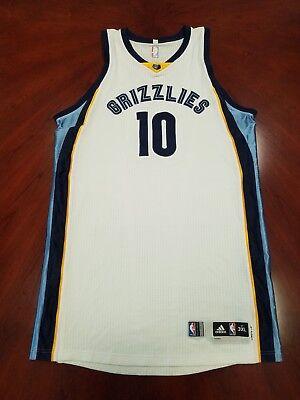 Jarell Martin Memphis Grizzlies NBA Game Worn Jersey 3127c7f13