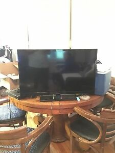 TV and blu ray player