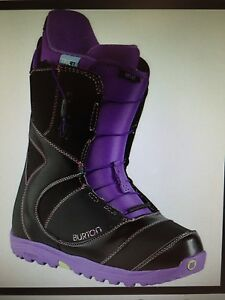Brand New Burton mint black/purple womens snowboard boots