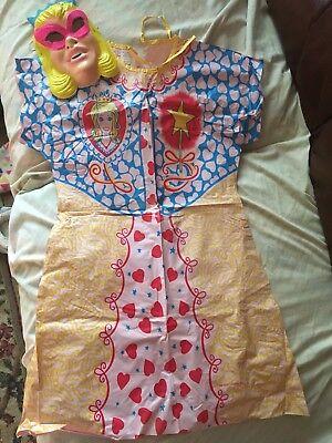 VINTAGE BEN COOPER 1980 HALLOWEEN COSTUME PRINCESS SZ 6-8 PRE-OWNED - 1980 Halloween Costume