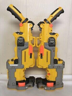 Nerf Vulcan EBF-25 Machine Gun Shell Only For Mod Paint Sides Plastic Set Yellow