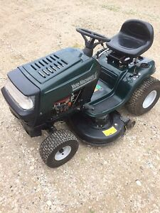 Mtd lawn tractor like new condition