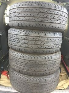 4-215/55R16 Continental all season