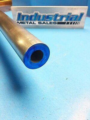 1-12 Od X 12-long X 38 Wall 6061 T6511 Aluminum Round Tube-1.5 Od X .375