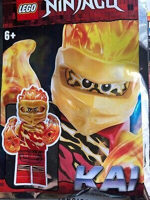 Lego Ninjago Kai With Fire Fists Mini Figure Polybag