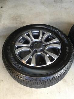 PX ranger wildtrak wheels