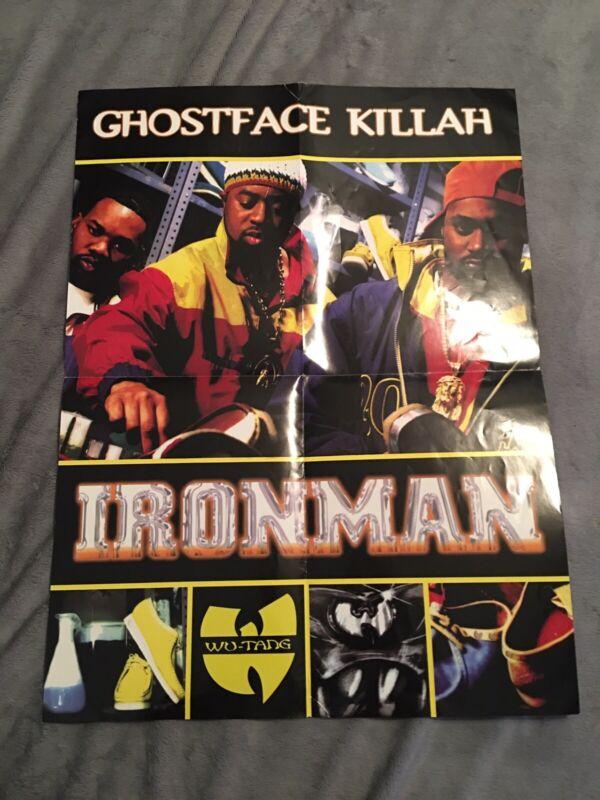 1996 Ghostface Killah Ironman Poster