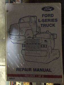 Ford louisville l series genuine  repai manuals St Albans Brimbank Area Preview