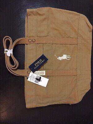 Polo Ralph Lauren Beach Bag, Tote, Brand New, Khaki