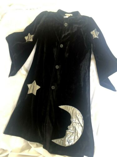 Pottery Barn Kids Wizard Robe Only 4-6 Costume EUC