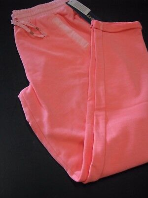 Cherokee Girls Retro Pink Elastic Waist Knit Crop Pants Girls Size L (10/12) NWT - Retro 12 Knit Pant