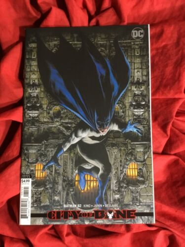 BATMAN #82~TRAVIS CHAREST COVER ART~TOM KING STORY~DC COMICS BOOK~