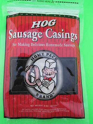 100% Natural Sausage Casings Hog Pork for 25 lbs Brats Smoked Links Recipe