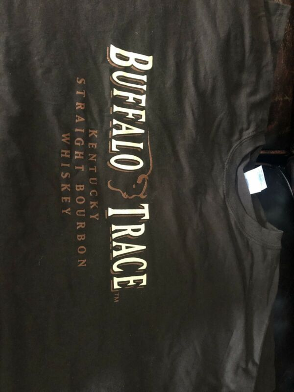 New Buffalo Trace Bourbon Whiskey Brown T Tee Shirt MENS TShirt 2XL SiZe XXL