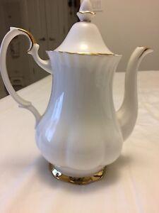 Royal Albert Val D'or Coffee Pot $90