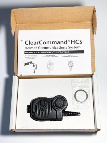 MSA CLEARCOMMAND HSC LAPEL MICROPHONE P/N 10042903.