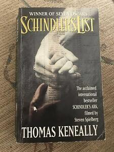 Schindler's List Paperback Novel by Thomas Keneally Marayong Blacktown Area Preview