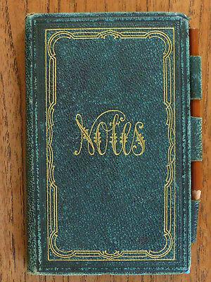 Kleines Poesiealbum ca.1896, möglicherweise aus dem Freiherrenhaus v. Göler.