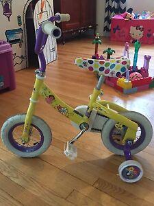 Girls toddler Dora bike