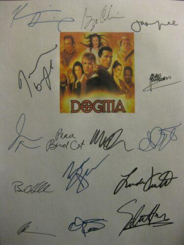 Dogma Signed Script X15 Ben Affleck Matt Damon George Carlin Kevin Smith reprint