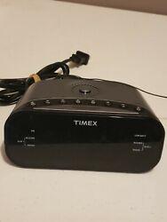 Timex T231AC Dual Alarm AM/FM Clock Radio Tested Works 100%