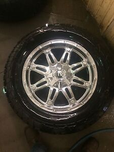"""20"""" rims with tires"""