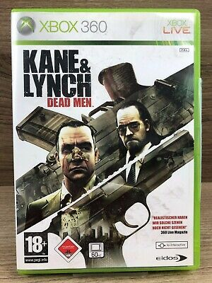 FSK18 • Xbox 360 Classics Spiel • Kane & Lynch - Dead Men • Guter Zustand #M39