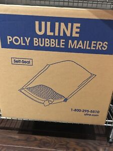 Uline poly bubble mailers