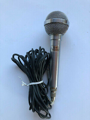 CALRAD 10-21 DYNAMIC MICROPHONE WITH 19 FOOT CORD IN EXCELLENT CONDITION