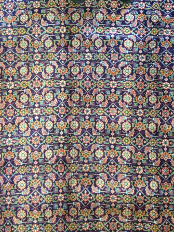 Tremendous Tabriz - 1960s Vintage Persian Rug - Herati Carpet - 10 X 13.3 Ft.